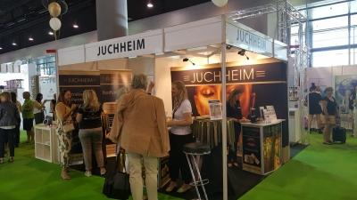 Cosmetica Frankfurt 2019 / Juchheim / Messestand