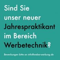 Jahrespraktikum bei Weber Werbung GmbH in Alfeld