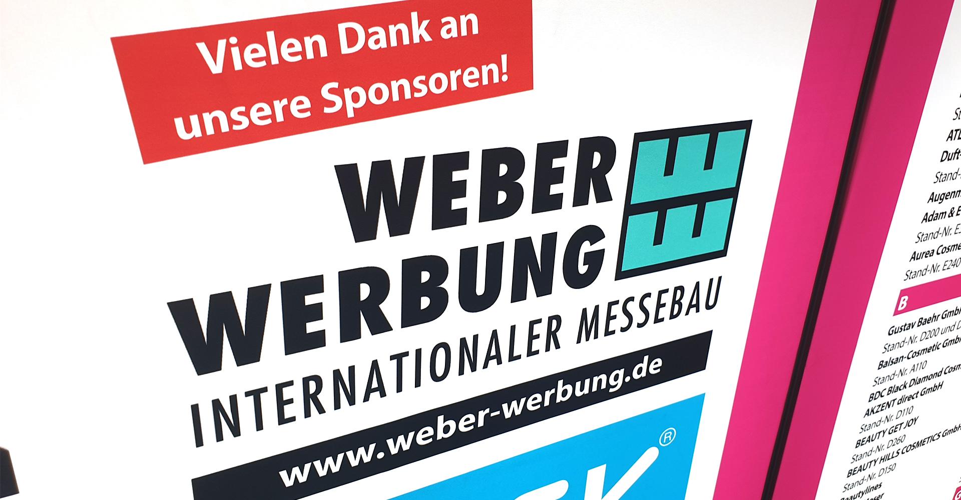 Cosmetica Hannover Messebau Delligsen ALfeld Sponsor