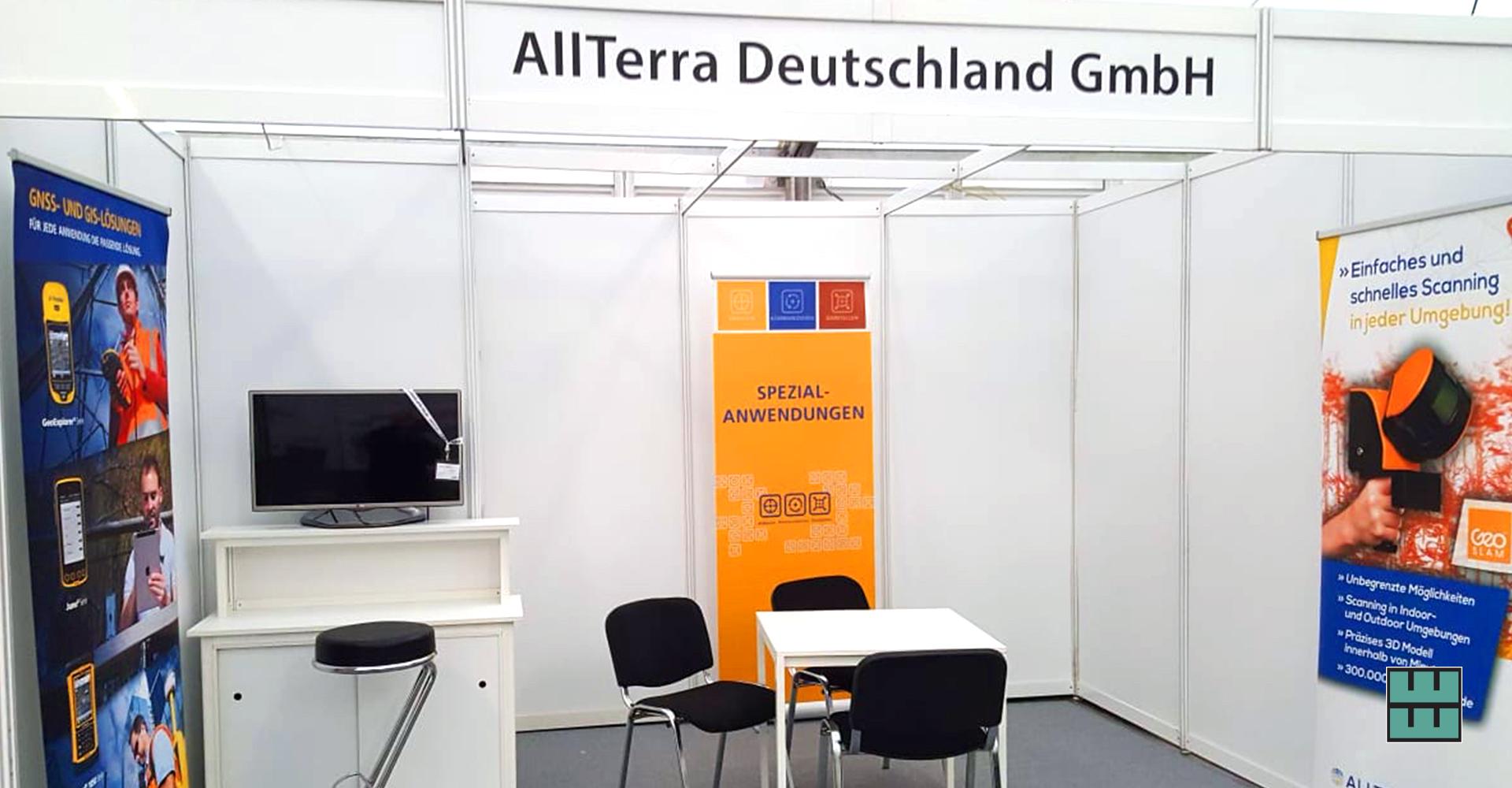 DLG Waldtage 2019 Weber Werbung Mietmöbel Messebau Beschriftungen Lichtenau Westfalen Allterra