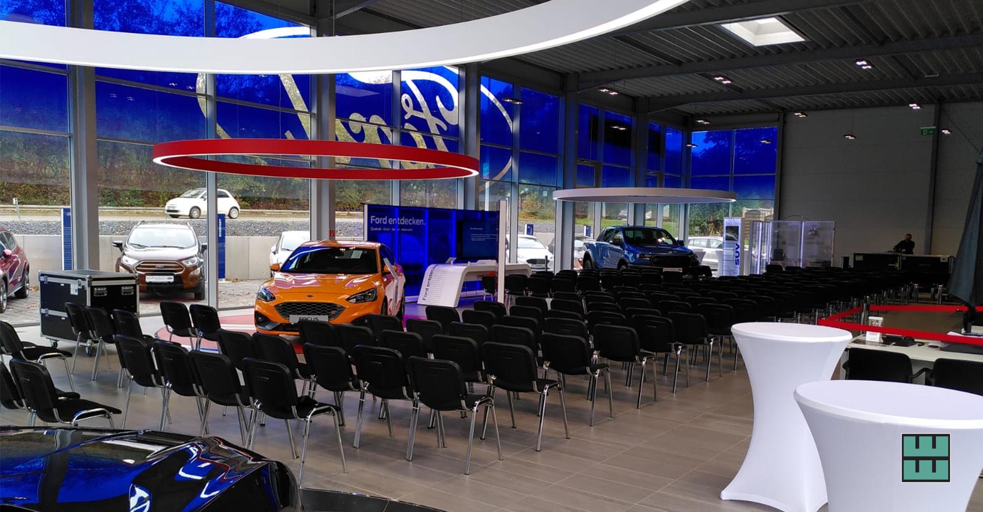 Mietmöbel für die Jobdatingdays in Alfeld Ford Delligsen Leinebergland