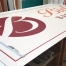 Neue Schilder für Biel's Backhaus. Digitaldruck auf Alu-Verbund-Platten.
