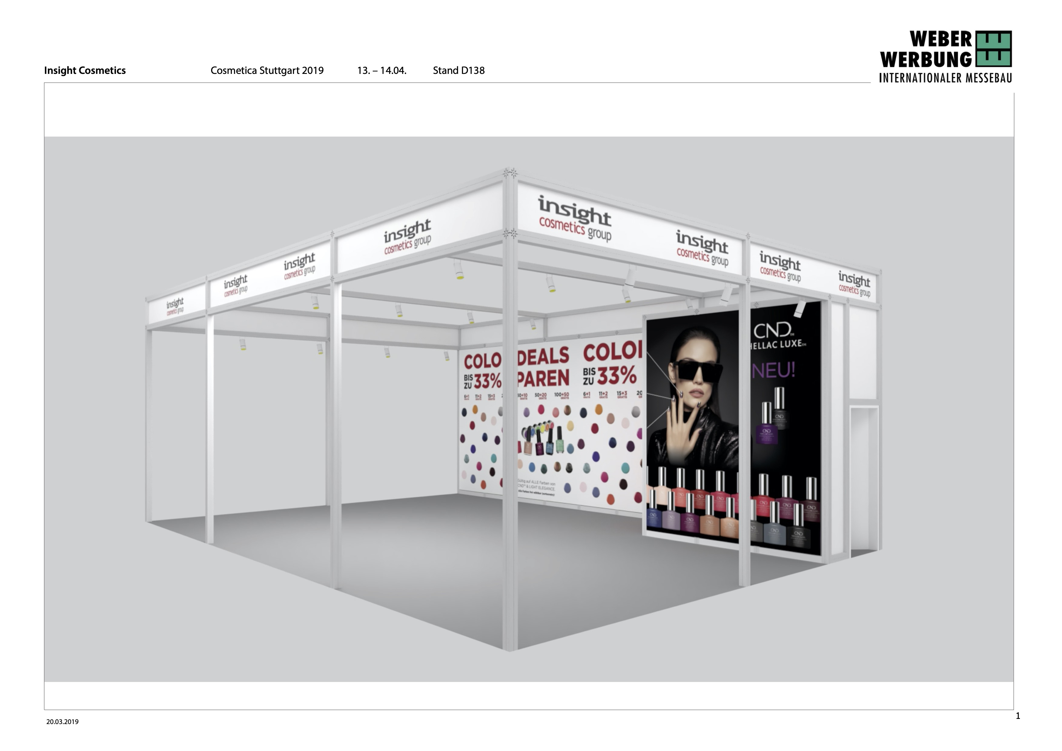 Entwurf Insight Cosmetics Cosmetica Stuttgart