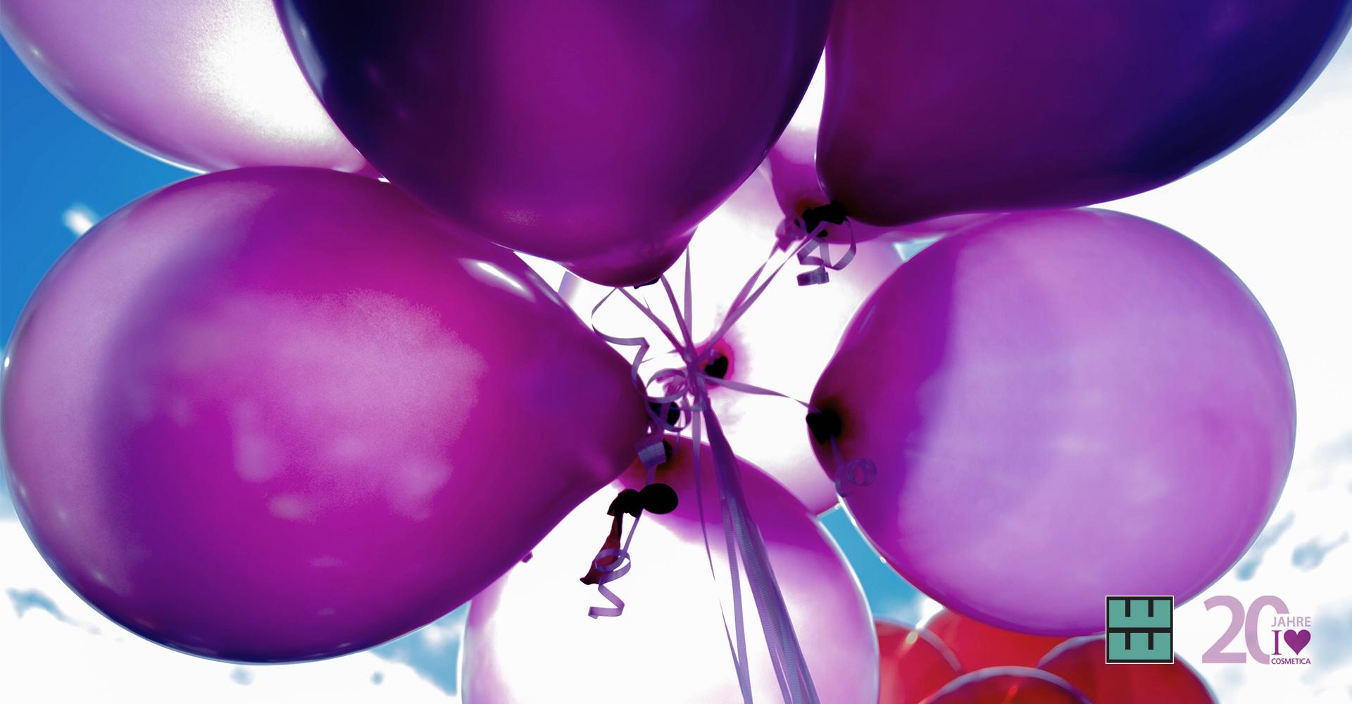 Happy Birthday zu 20 Jahren KOSMETIK international Messe GmbH.