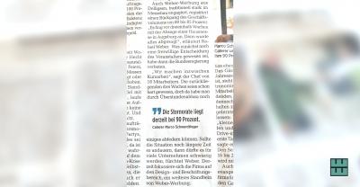 Alfelder Zeitung berichtet: Corona-Krise bei Alfelder Veranstaltungsbranche