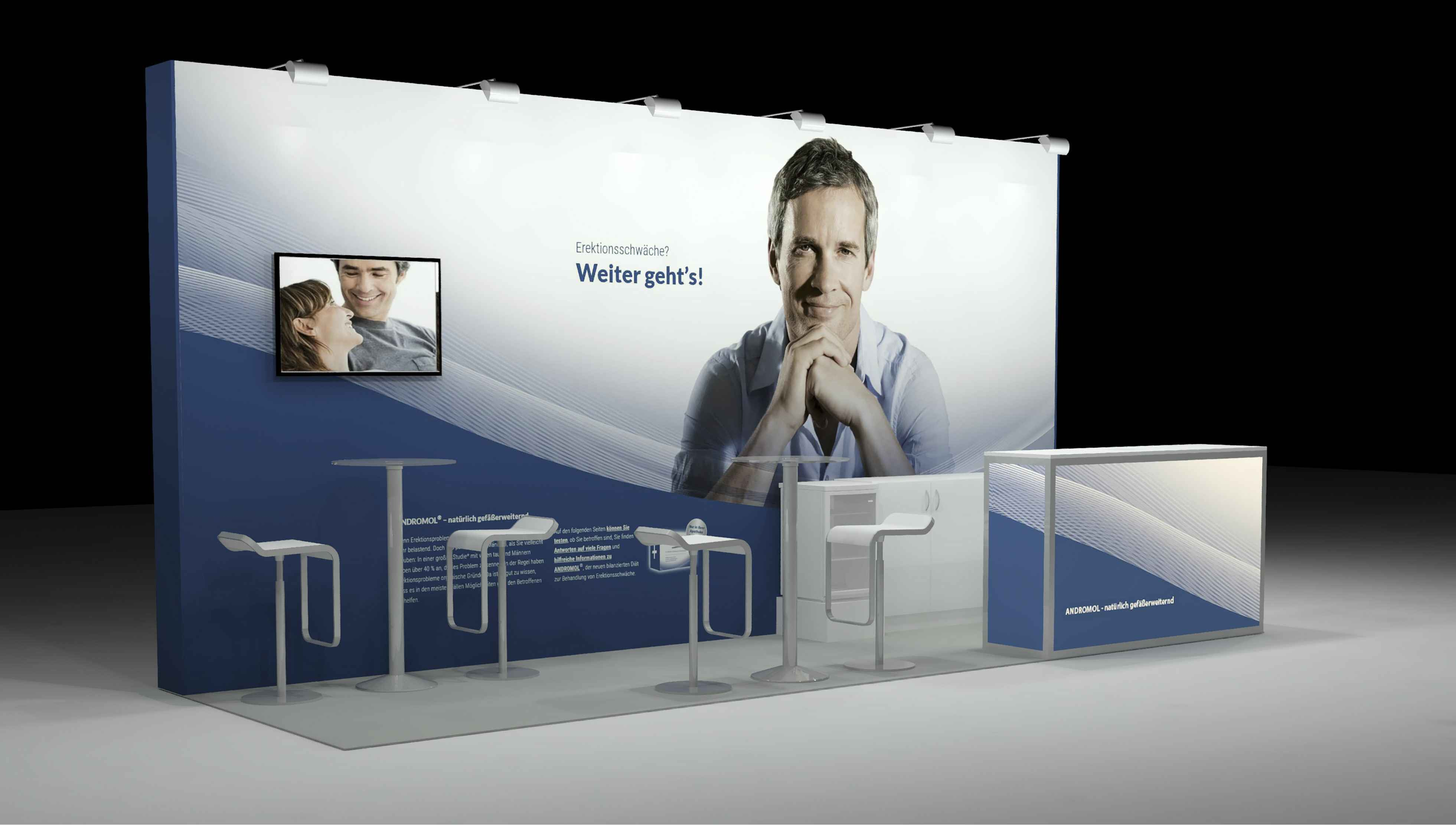 BRandpharme Andromol Messebau Hannover Weber Werbung