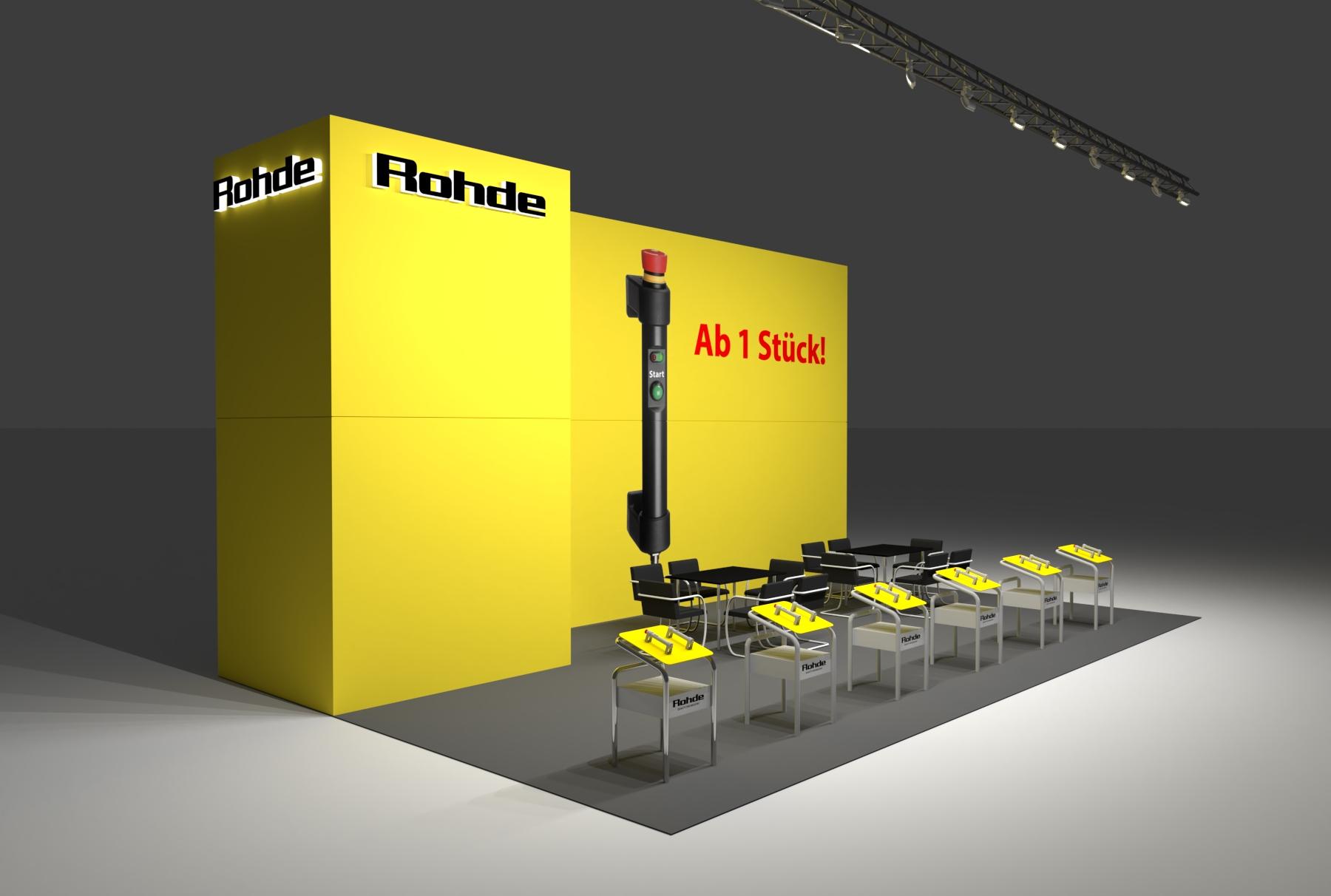 Rohde Messebau Hannover Weber Werbung