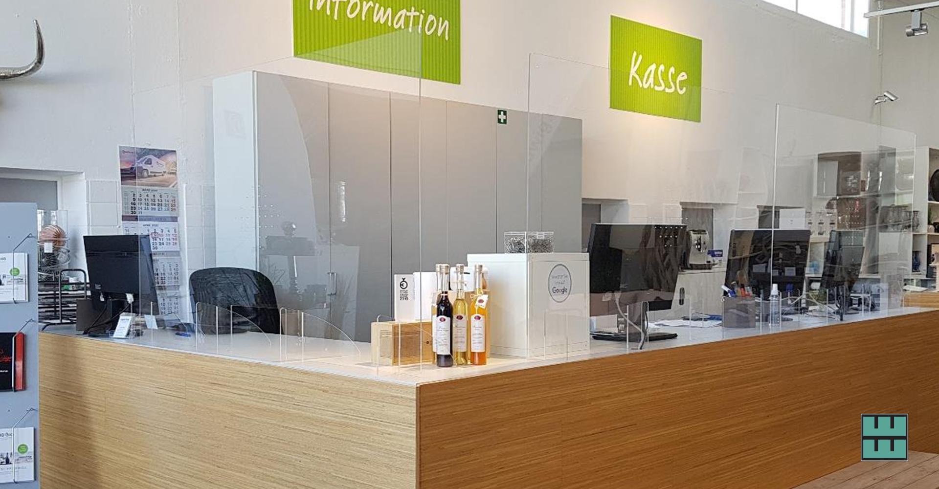 Ab dem 11.05.2020 darf die Gastronomie wieder öffnen! Jetzt Hygieneschutz sichern: Acrylglas-Schutzwände