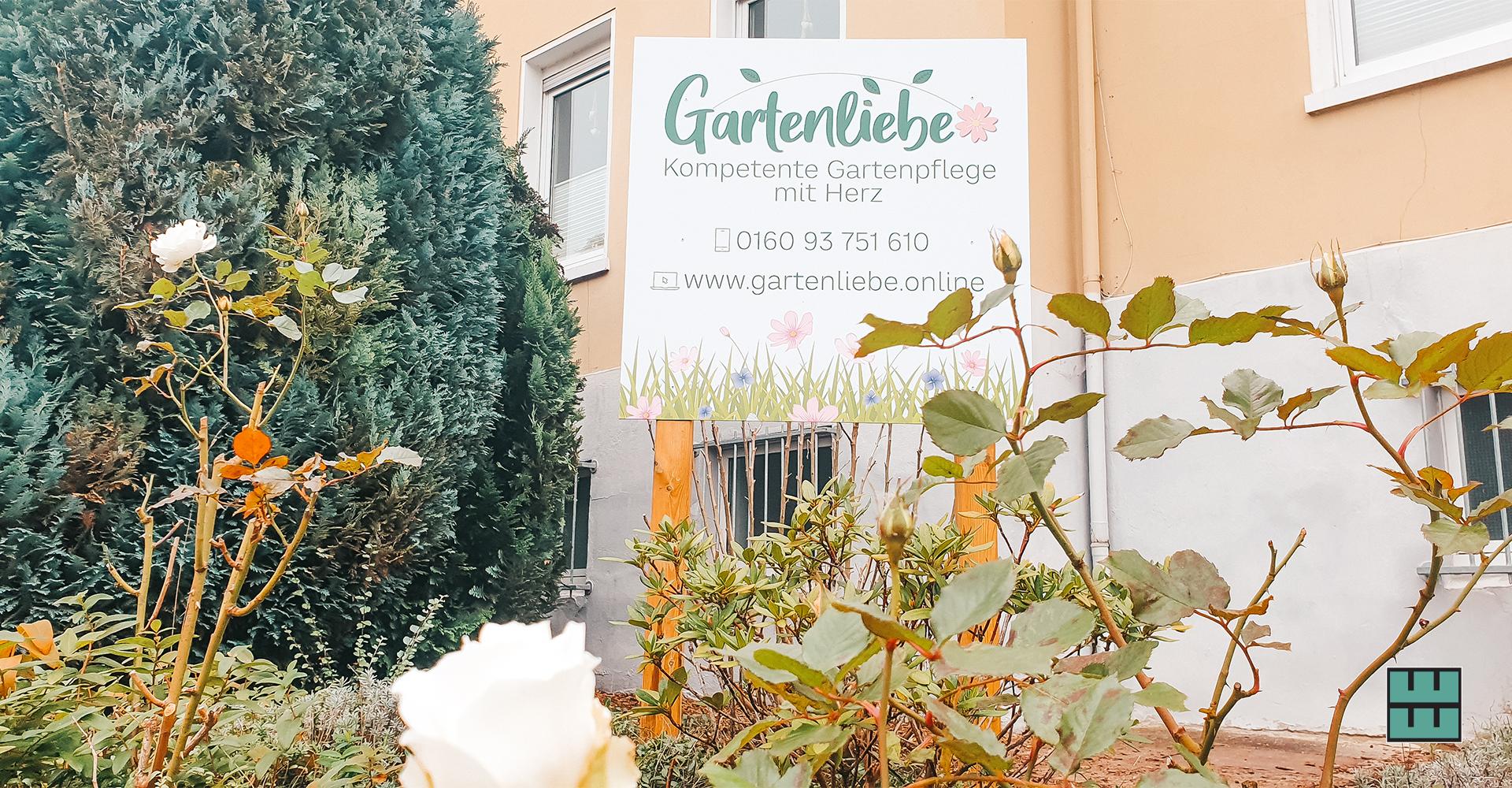 Die Gartenliebe Alfeld haben wir nicht nur mit neuer Autobeklebungunterstützt, sondern durften auch ein neues Schild produzieren.