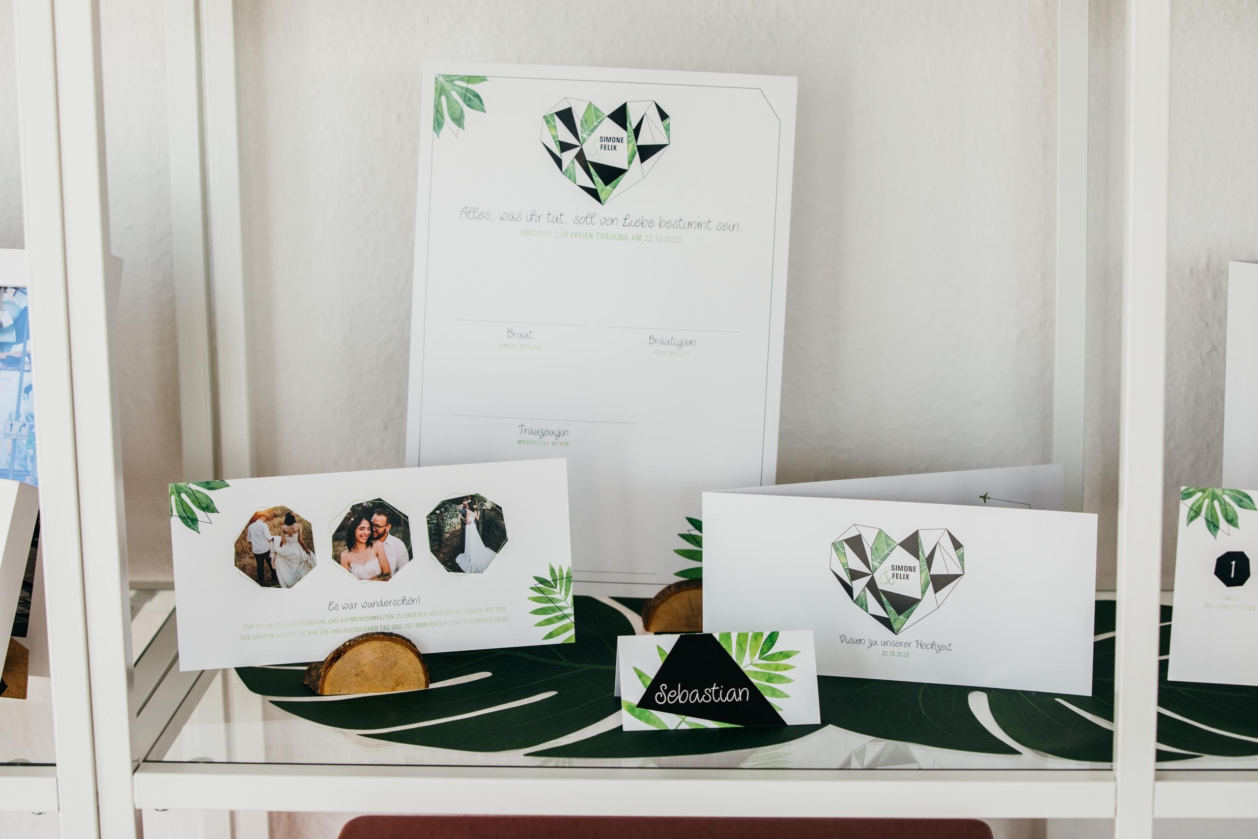 Design - Hochzeitspapeterie | Fotos von https://www.asa400.de/blog/