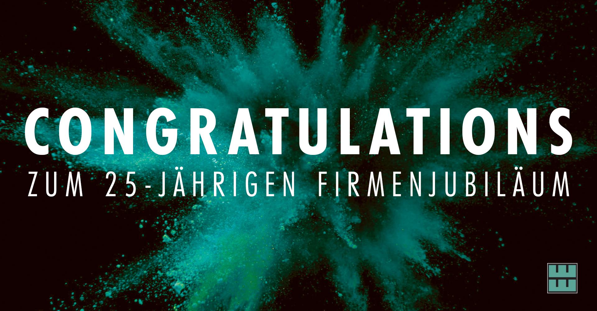 Am 27.02.2021 feierte einer unserer Kunden, der Garten- und Landschaftsbau Falko Werner aus Eime, sein 25-jähriges Firmenjubiläum. Wir gratulieren auf diesem Weg ganz herzlich!