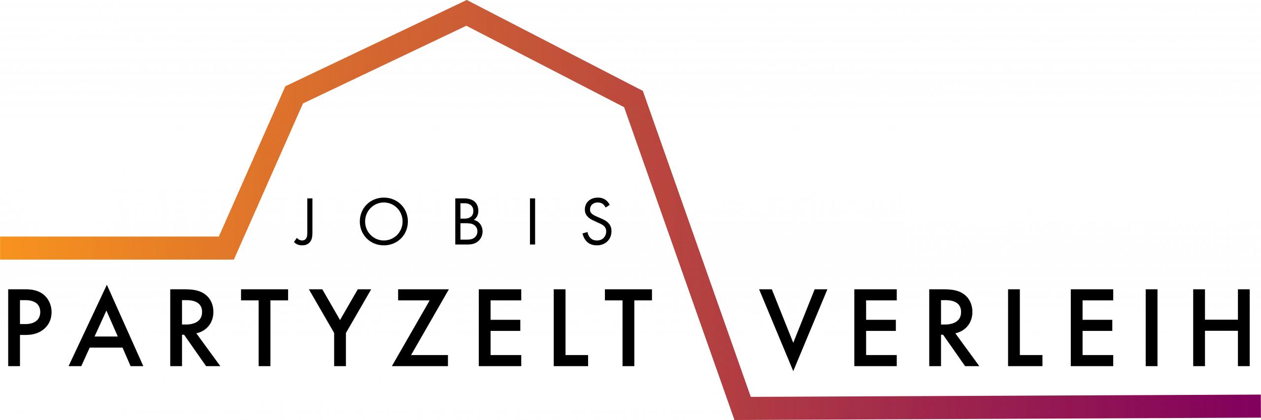 Logodesign für Jobis Partyzeltverleih aus Alfeld